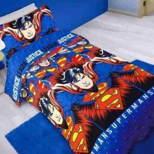 Acolchado MF Superman Twin 1½ Plz
