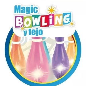 SET DE BOWLING Y TEJO LUMINOSO